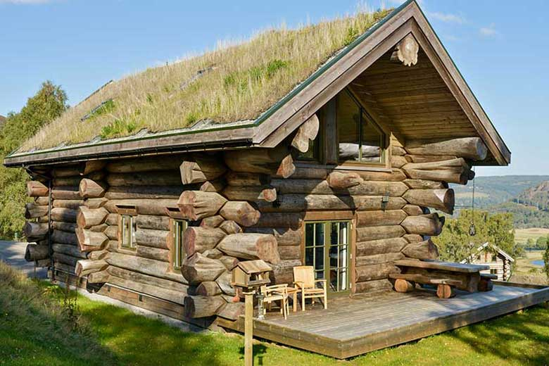 Eagle brae log cabins self catering accommodation for Eagles ridge log cabin